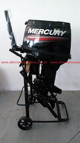 motor de popa 50 hp mercury 3 cilindros (manual)