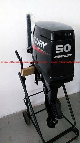 motor de popa 50 hp mercury mh (inscrição estadual ou rural)
