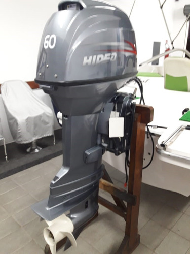 motor de popa 60hp hidea -  power trim