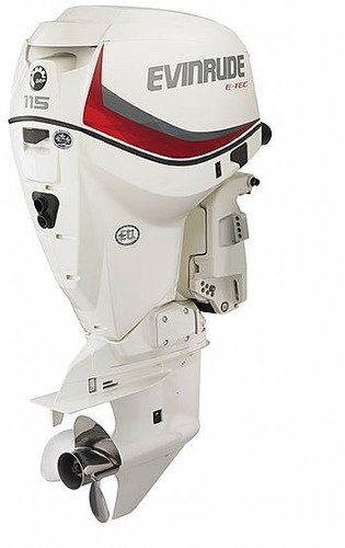 motor de popa evinrude e-tec 115 hp okm  promoçao  fabrica