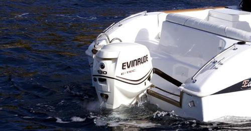 motor de popa evinrude e-tec 130 hp okm ( miami nautica )