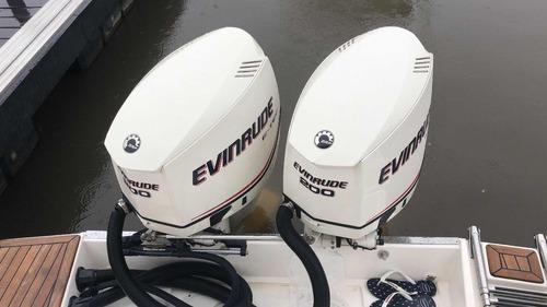 motor de popa evinrude e-tec  200 hp v6 bravonautica