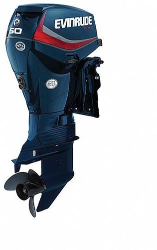 motor de popa evinrude e-tec 50 hp okm ( miami nautica )