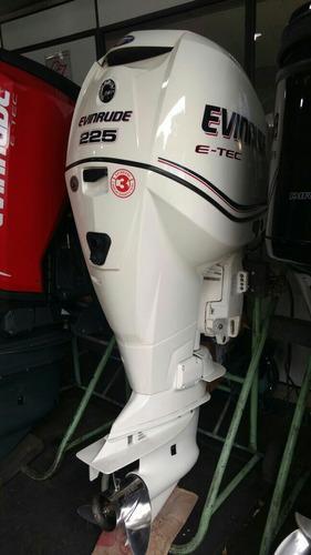 motor de popa  evinrude ete 225 hp surfski
