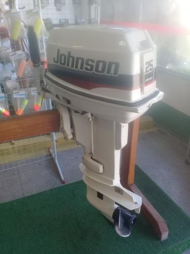 motor de popa johnson 25 hp   ( miami nautica )