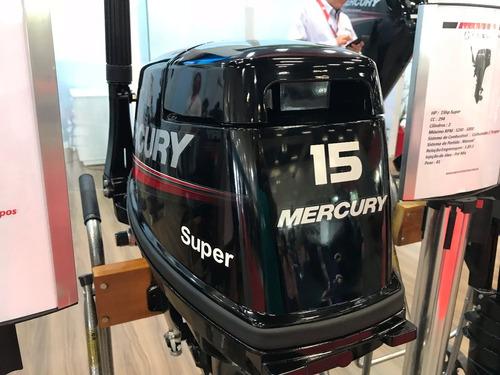 motor de popa mercury 15 super 0km motozum náutica