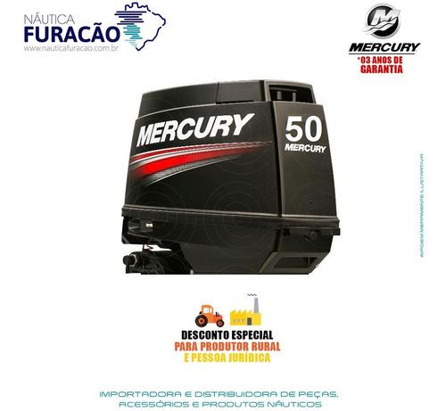 motor de popa mercury 2 tempos 50hp m 3 cilindros japão