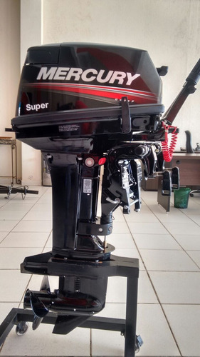motor de popa mercury - 2t - 15 m super 18 hp, cpf