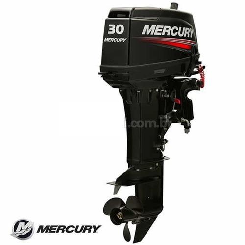 motor de popa mercury 30 eh - partida elétrica
