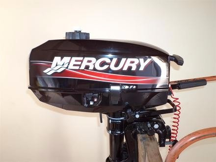 motor de popa mercury 3.3 hp 2 tempos 0km - sob encomenda