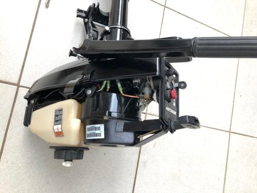 motor de popa mercury 3.3hp  pouquíssimo uso / 2015