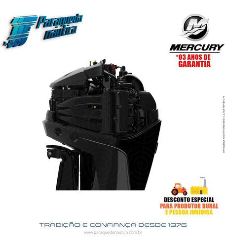 motor de popa mercury 4 tempos 200hp l 3.4l efi v6 mecânico
