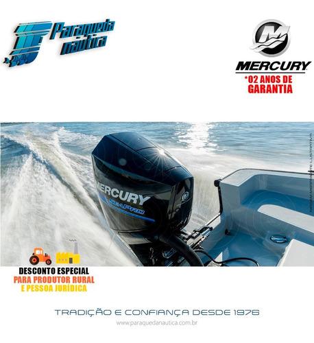 motor de popa mercury 4 tempos 200hp xl 3.4l efi v6 seapro