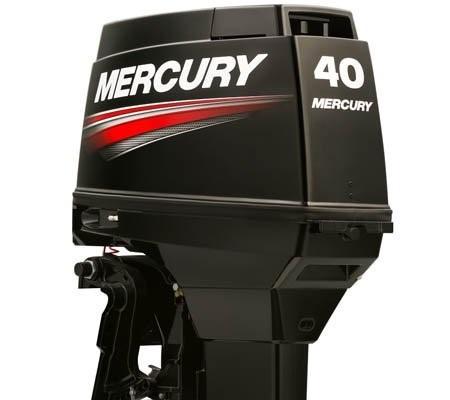 motor de popa mercury 40 hp 2 tempos m super poddium náutica