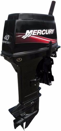 motor de popa mercury 40 hp super 2 tempos poddium náutica
