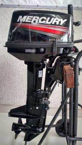 motor de popa mercury 8 hp 2 tempos 0km - pagamento a vista