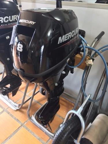 motor de popa mercury 8 hp 4 tempos 0km modelo novo