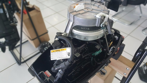 motor de popa mercury 8.0 hp 2 tempos - novo 2018 + brinde