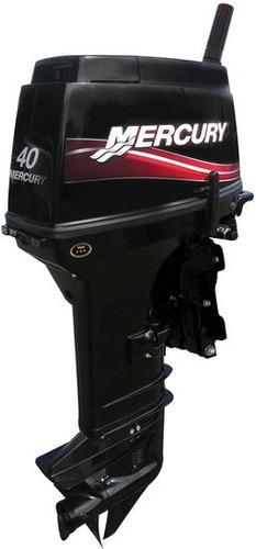 motor de popa mercury carburado 2t -40 m super (3cil) manual