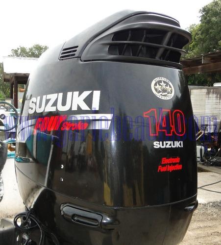 motor de popa suzuki 140 hp 4 tempos ano 2018