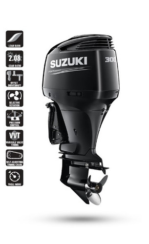 motor de popa suzuki 300 hp - df300ap 4t