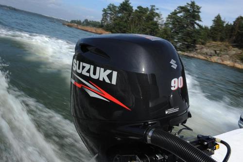 motor de popa suzuki 90hp 4 tempos okm   ( injeçao )