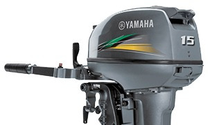motor de popa yamaha 15hp 2t - pronta entrega!