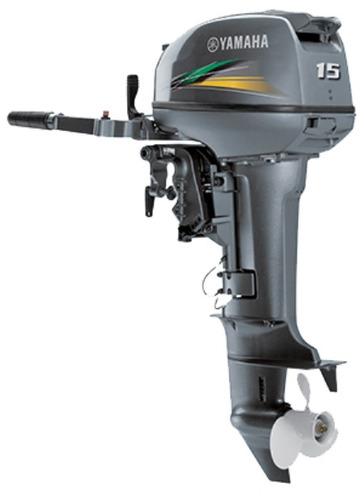 motor de popa yamaha 15hp - modelo novo 15gmhs - 2017