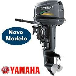 motor de popa yamaha 25 hp okm ( 12 vezes ) miami nautica