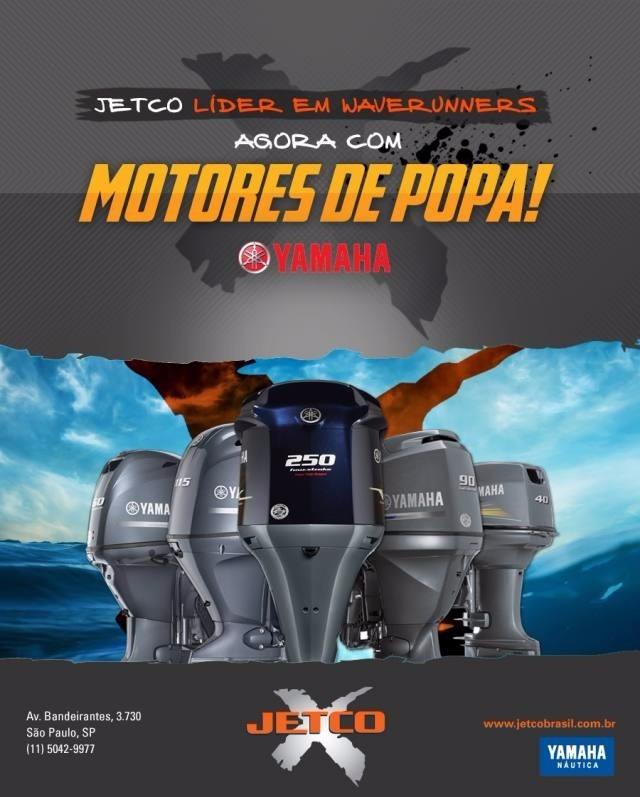 motor de popa yamaha 25hp - modelo novo 25xmhs - 2017