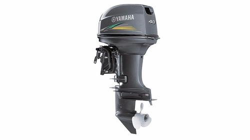 motor de popa yamaha 40 hp elétrico modelo 40aws - sem uso