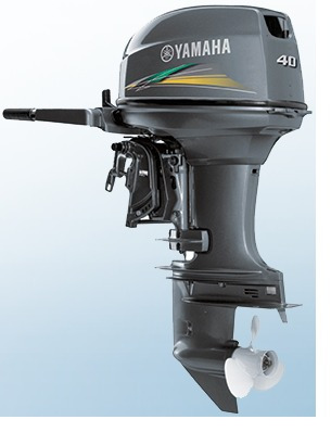 motor de popa yamaha 40hp 2t + capa grátis - pronta entrega!