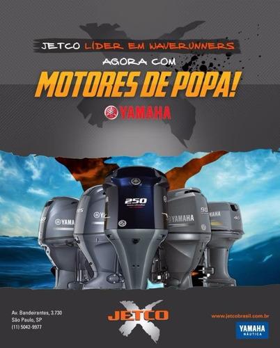 motor de popa yamaha 40hp - modelo novo 40amhs - 2018