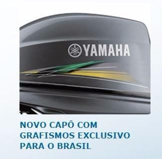 motor de popa yamaha 40hp - modelo novo 40aws - 2018