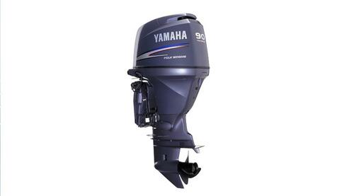 motor de popa yamaha 90hp - 4 tempos - modelo novo f90 c