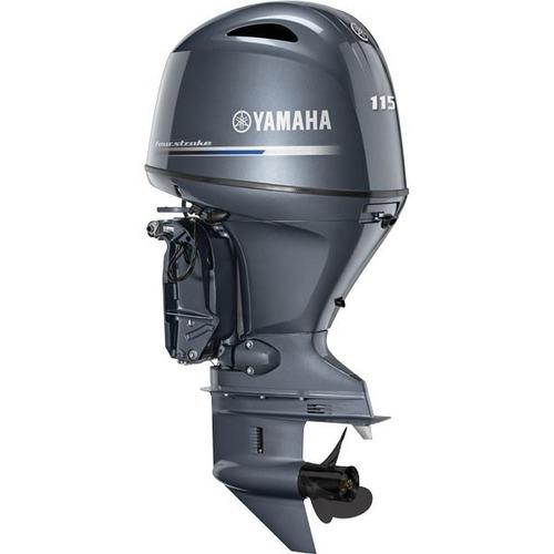 motor de popa yamaha de f115 betl - novo 2020