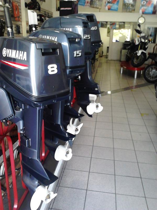 motor de popa yamaha  e 8 hp 12 x no cartão