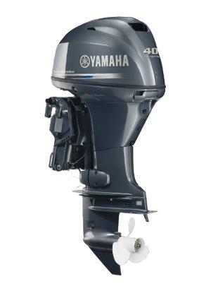 motor de popa yamaha f 40 hp  fetl - 4 tempos