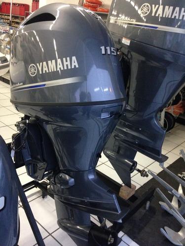 motor de popa yamaha f115 hp zero na caixa 2018