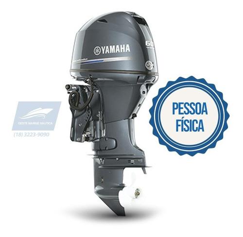 motor de popa yamaha f60fetl novo 0km 2020 pf