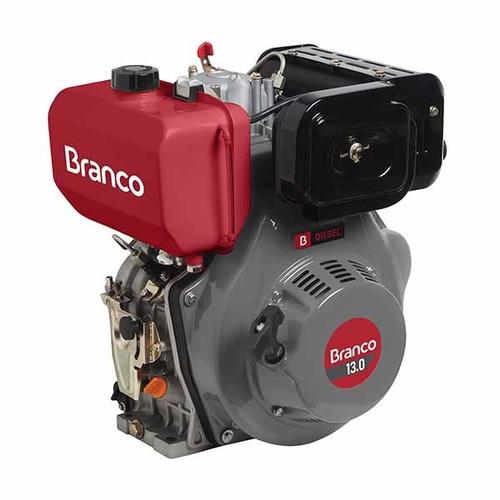 motor diesel ou bio diesel 13 hp partida elétrica branco