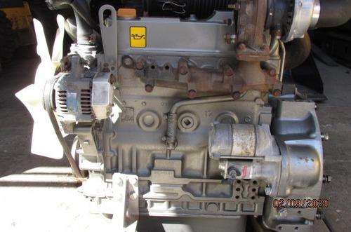 motor diesel yanmar 4 cil turbo 16 valvulas  trabajando $55.