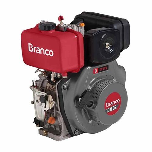 motor diesel/bio diesel 10.0 hp branco p. elétrica promoção.