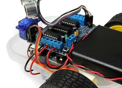motor driver l293d shield arduino controla 4 motodes dc