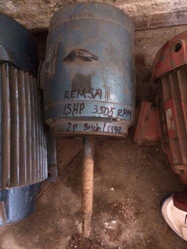 motor electrico 15hp reliance 3505 rpm 3/60/220-440v