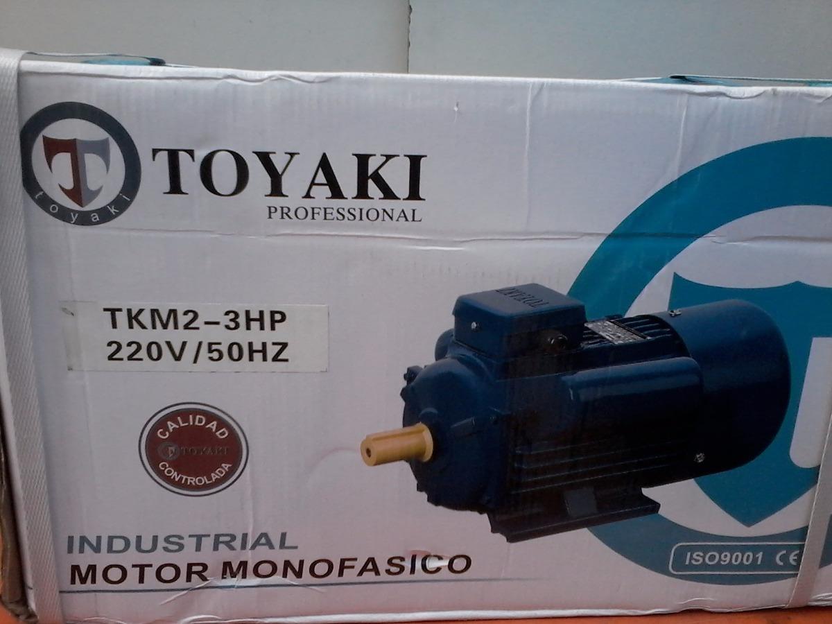 Motor Electrico 3hp 2250w 2900rpm Industria Japon