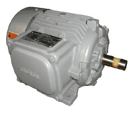 motor electrico bifasico monofas 220v siemens 1700rpm 5 hp