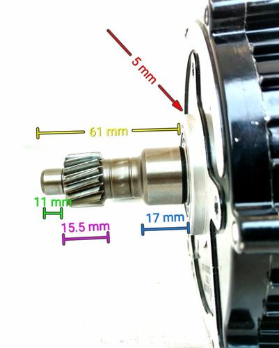 motor eléctrico /controlador trimoto go kart buggy 60v 1000w