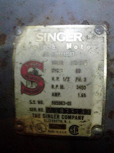 motor electrico de la marca singer