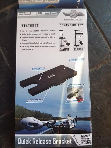 motor electrico haswing , 55lbs con c/r + pedalera  + base